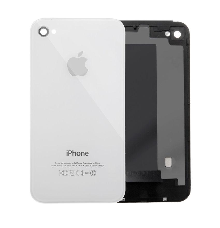 7702bf2651a Tapa Trasera de Bateria para iPhone 4s blanca - Big Manzana